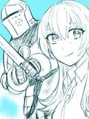 铠甲与OL小姐漫画